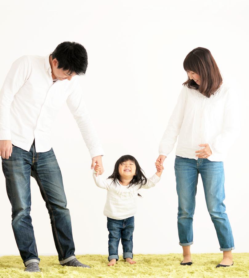 出張家族写真